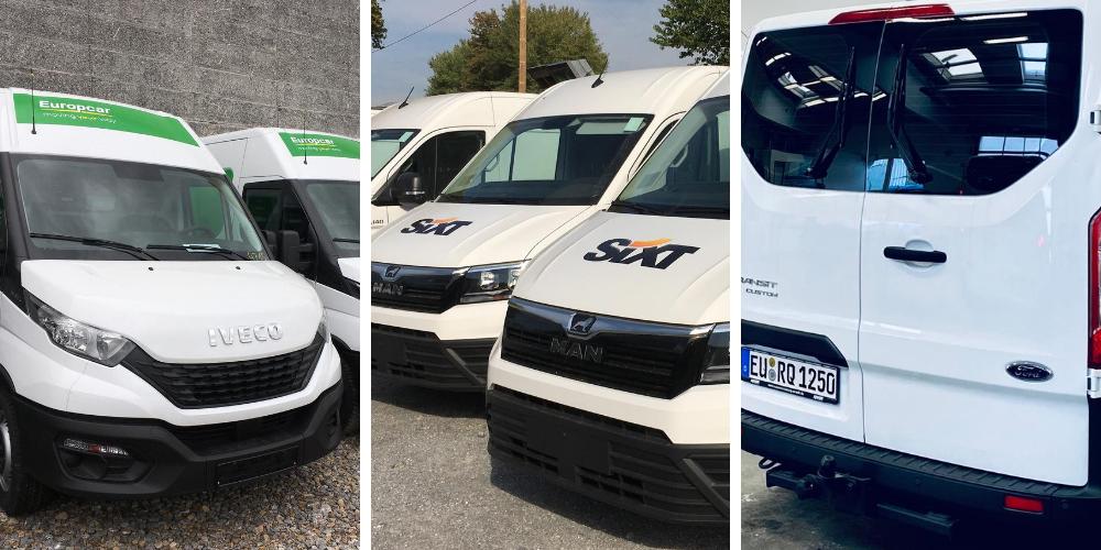 Fahrzeugbeschriftung von B.I.S Transporter Protection