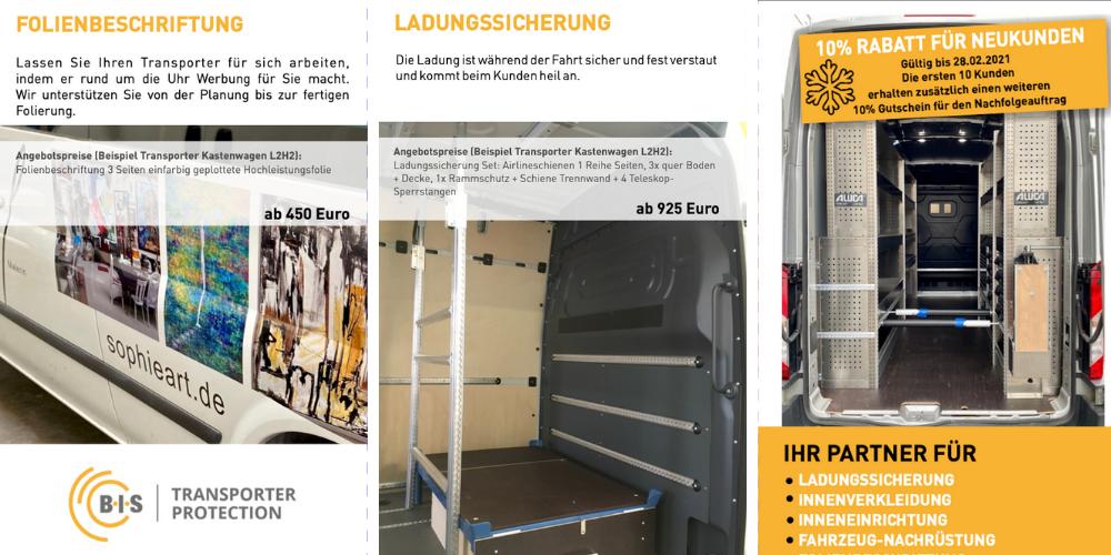 Jetzt Transporter-Kastenwagen fit machen für 2021!