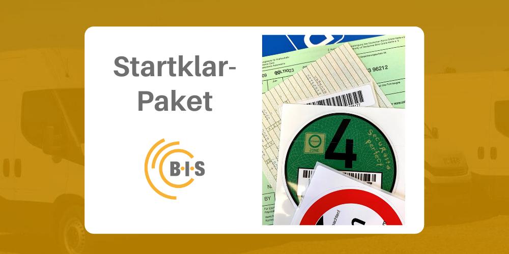 Startklar-Paket für Ihren Transporter Kastenwagen